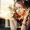 heartofgold (yyellowbird) Tags: sunset ohio house reflection abandoned window girl square glare cari