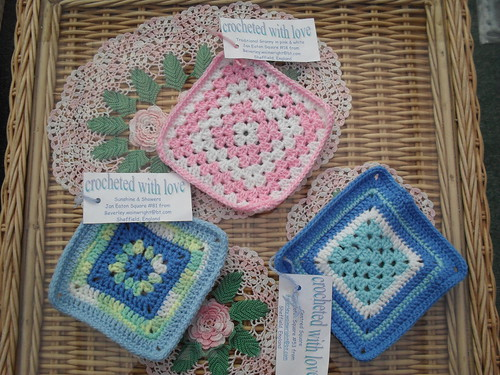 Beverley couldn't stop at making 'Square Target' she made some others too! For the future Challenges!