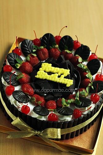 Blackforest Cake 24cm - Bagus