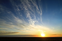 autumn sunshine (AgusValenz) Tags: sky sun sol sunshine azul clouds canon blu amanecer cielo nubes 7d kazakhstan efs1022mm explored kazajistan