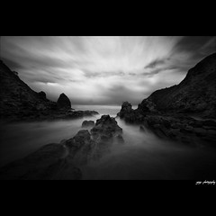crush the stone (yoga - photowork) Tags: morning sky blackandwhite bw panorama lake beach nature canon indonesia lens landscape photography angle wide wideangle v3 infrared symphony 1022mm digitalinfrared landscapephotography beautifulmorning infraredphotography inspiredbylove efs1022mmf3545usm rockpaper trasognoerealtà 400d beautifulindonesia flickaday visitindonesia infraredpanorama flickrclassique