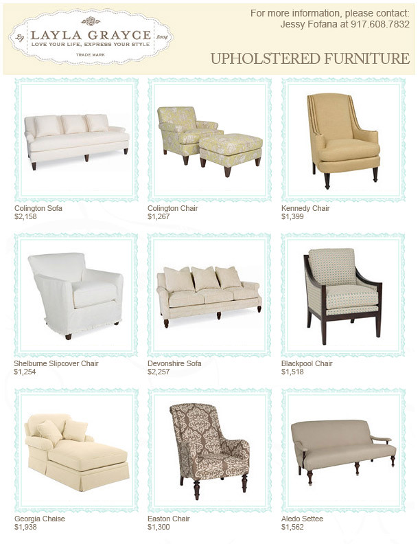 Upholstered Furniture (Layla.Grayce) Tags: Chair Sofa Ottoman Settee  Upholsteredfurniture