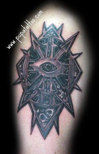 tattoo simbolos. simbolo Caos Pupa Tattoo