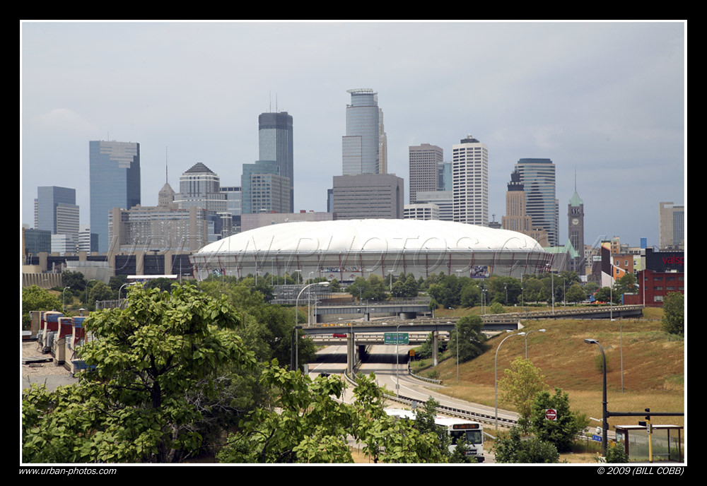 The Metrodome, Minneapolis, MN