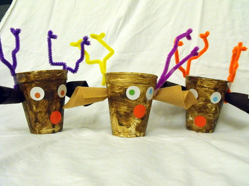 Reindeer treat cups