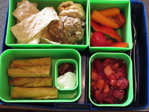 Bento Box Lunch 9-24-10