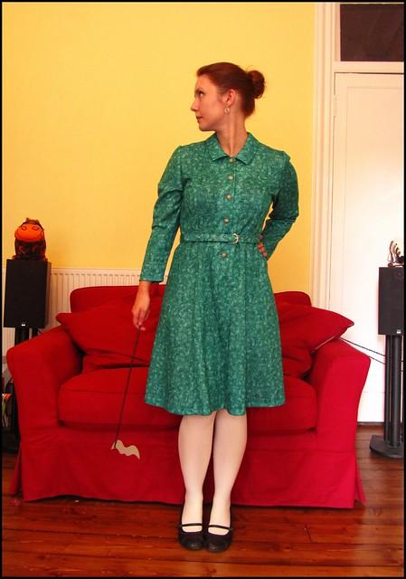 30.10.10: vintage dress