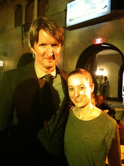 Tom Hooper and me!