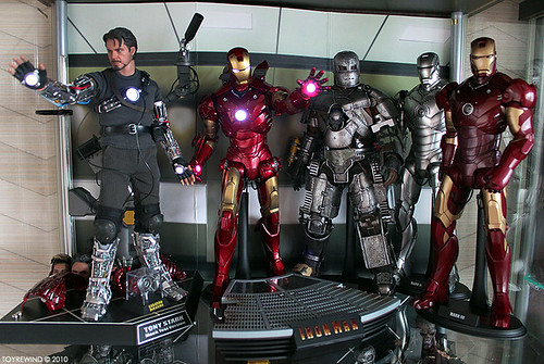 Hot Toys Iron Man Collection In New Cab A Photo On Flickriver