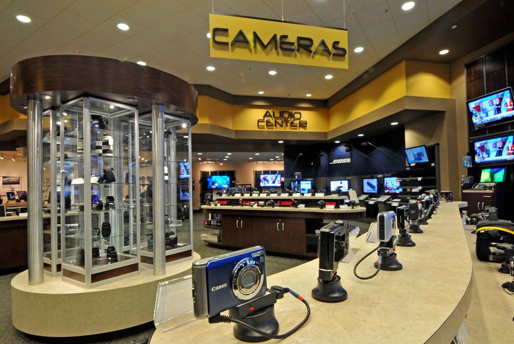 Camera Department at Huppin's N. Spokane Store