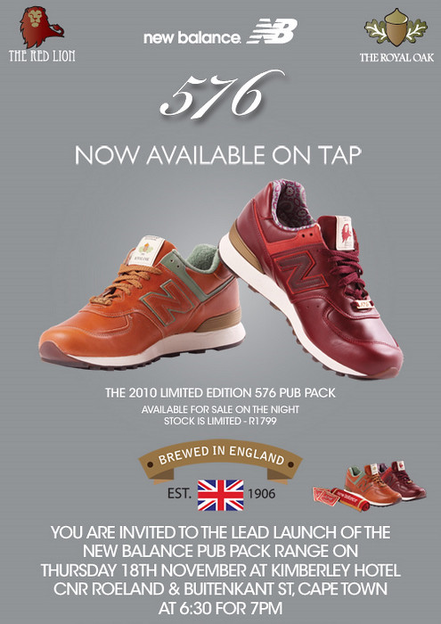 NEW BALANCE PUB LAUNCH