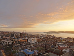 Winter Light in Dundee (eric robb niven) Tags: ericrobbniven scotland dundee landscape winter rivertay