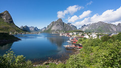 Lofoten Islands ! (Fab Boone Photo) Tags: lofoten nature sea mountains summer sunny blue green fabienboone fabboone