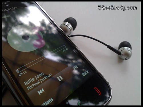 Music on the N97 Mini