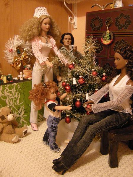"""13 - THEME PHOTO DU MOIS: Décembre 2011  """"NOEL ... ses préparatifs, la fête , le Père NOEL , les cadeaux"""" 4209730296_6d673cd9de_o"""