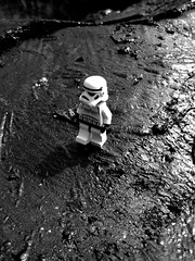 Moonwalk (leg0fenris) Tags: bw lost star starwars lego stormtrooper wars moonwalk legofenris
