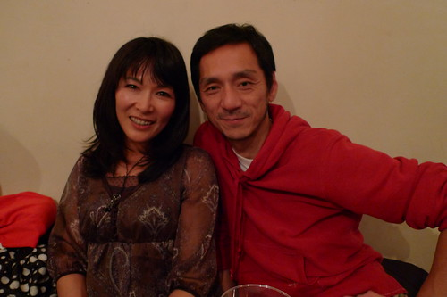 Kingyo's doomed husband and wife: Takao Kawaguchi and Amane Kudo