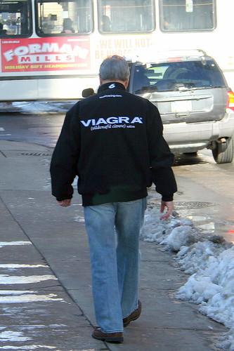 Viagra nascar jacket