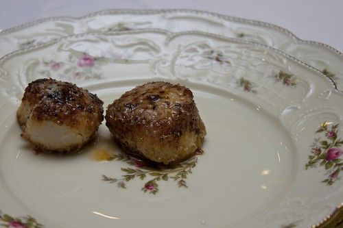 Fish 5 of 7: Seared Scallops