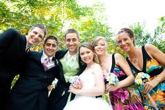 wedding party (pixienicki) Tags: wedding portraits kyle nicole eric trevor michelle shannon torontozoo offbeatbride lgweddings nickylewedding