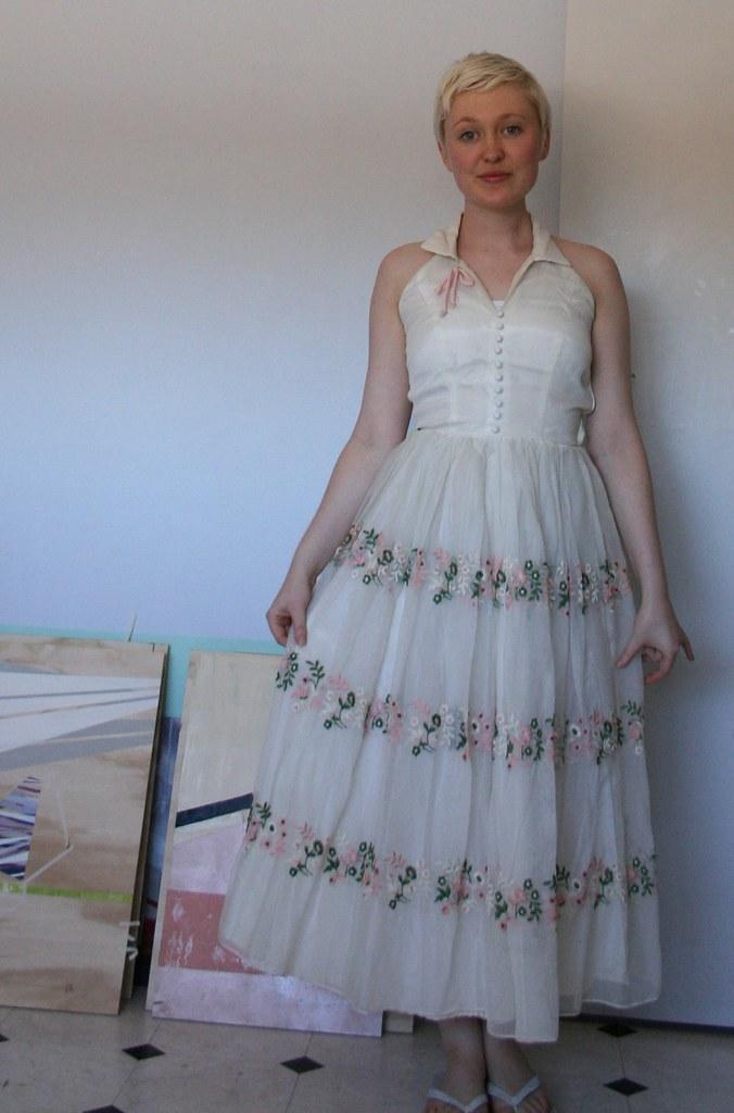 60's halter dress: the maiden voyage