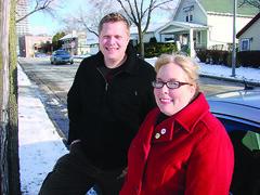 Trey Korte and Alisa Brown