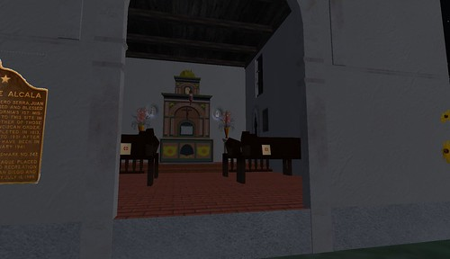 san diego mission in second life