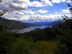 Overlooking Cle Elum Lake (Trystian Sky) Tags: lake outdoors woods scenery olympus c4040 cleelumlake c4040z olympus4040z 4040z olympus4040zoom