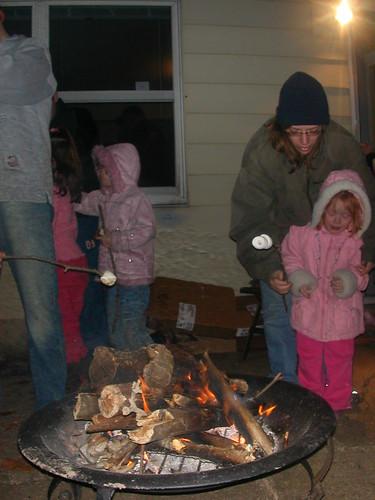 Dec 28 2009 Fire outside