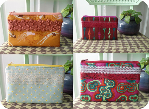 one of a kind pouches