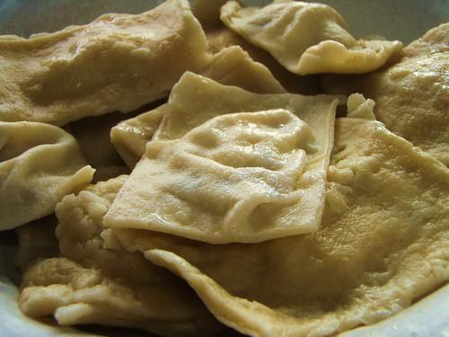 homemade mushroom ravioli - 51