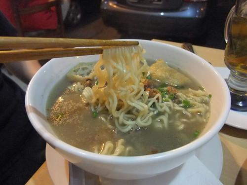 Bak Kut Teh with Instant Noodles