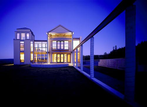 Modern Minimalist Ithaca House Design , Modern Exterior Design, Exterior Design