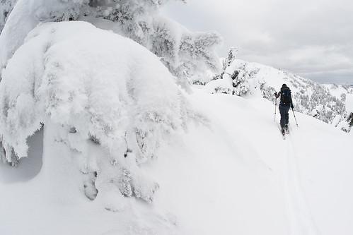 Tyax New Years Cinnabar Basin Ridge-a-rama Skiing Jan 2 2010   -9