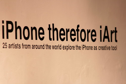 iPhone Therefore I Art - Chicago Art Department