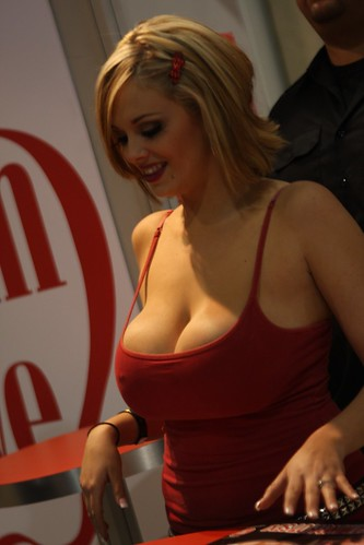 Katie Kox from Adam and Eve - Adult Entertainment Expo 2010