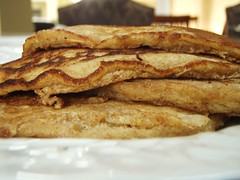 whole wheat pancakes - 19