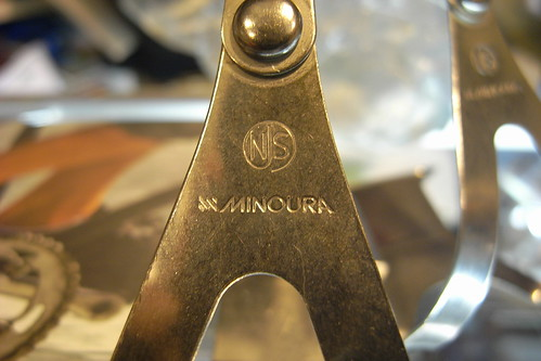 MINOURA(!!!) toe clip NJS