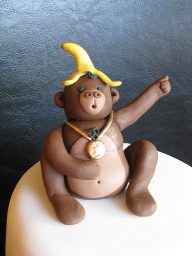 Disco Monkey Cake