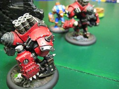 The Destroyer advances (atom smasher) Tags: miniatures warmachine warjack khador