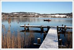 Lake Pfffikon (_becaro_) Tags: winter lake boot see boat january fisher zrich waterside fischer 2010 berend oberland stettler pfffikersee pfffikon becaro