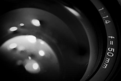 Minolta MC Rokkor 50mm F/1.4 Lens