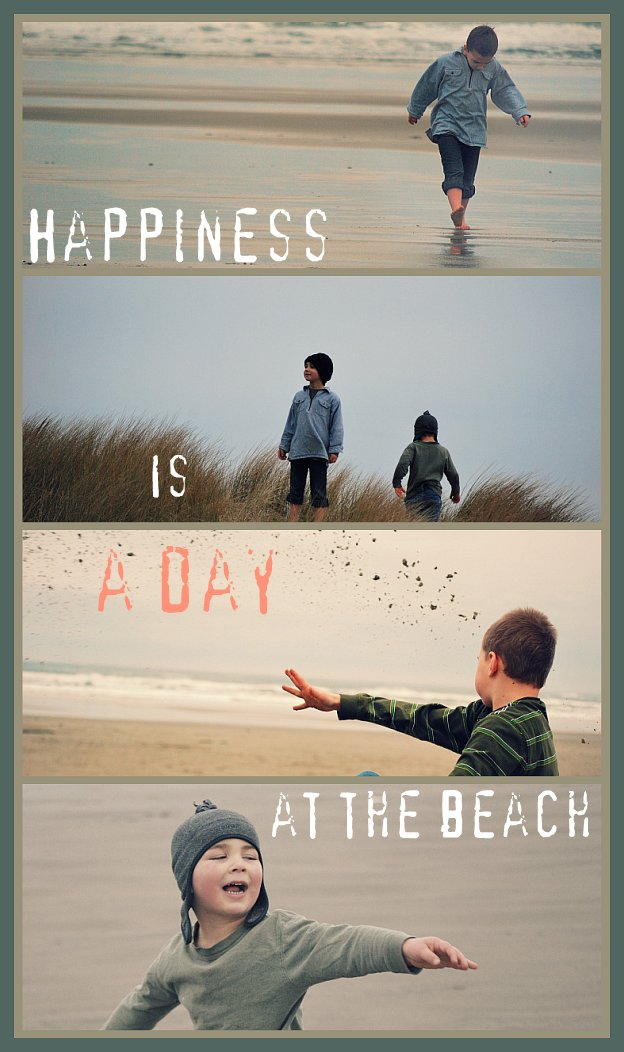 Happiness at the Beach