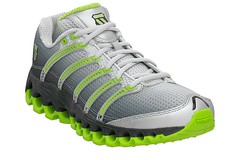 K-Swiss Tubes Run 100 Lime Green facing right side