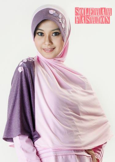Khadijah pink Hijab
