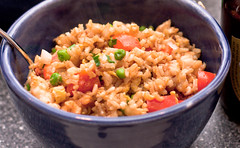 Shrimp Fried Rice Close