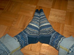 Niagara Falls Socks - Complete
