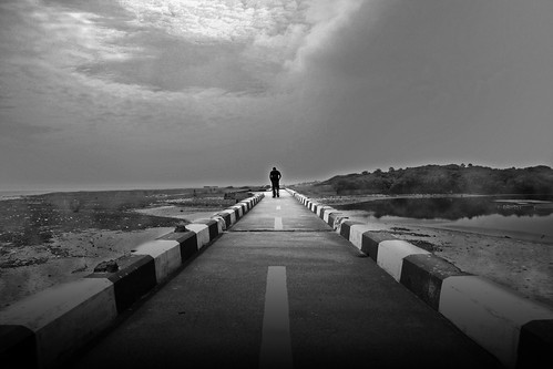 The Lonely Walk by Vinoth Chandar - Flickr