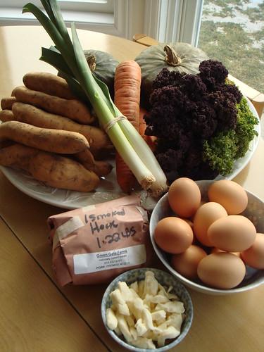 Bounty From Green Barn Market