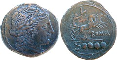 97/16, L Luceria Italic-2, Ceres Victory quadriga lighter all known examples below 30g but share dies with B1-3, RBW, Dextans 21g19